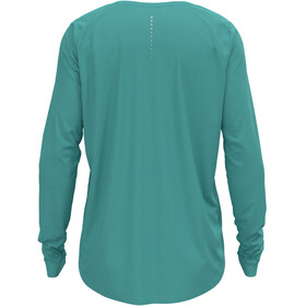 Odlo Zeroweight Chill-Tec T-Shirt L/S Crew Neck Women, turchese